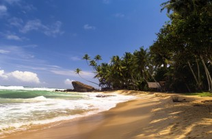Beach, near Galle